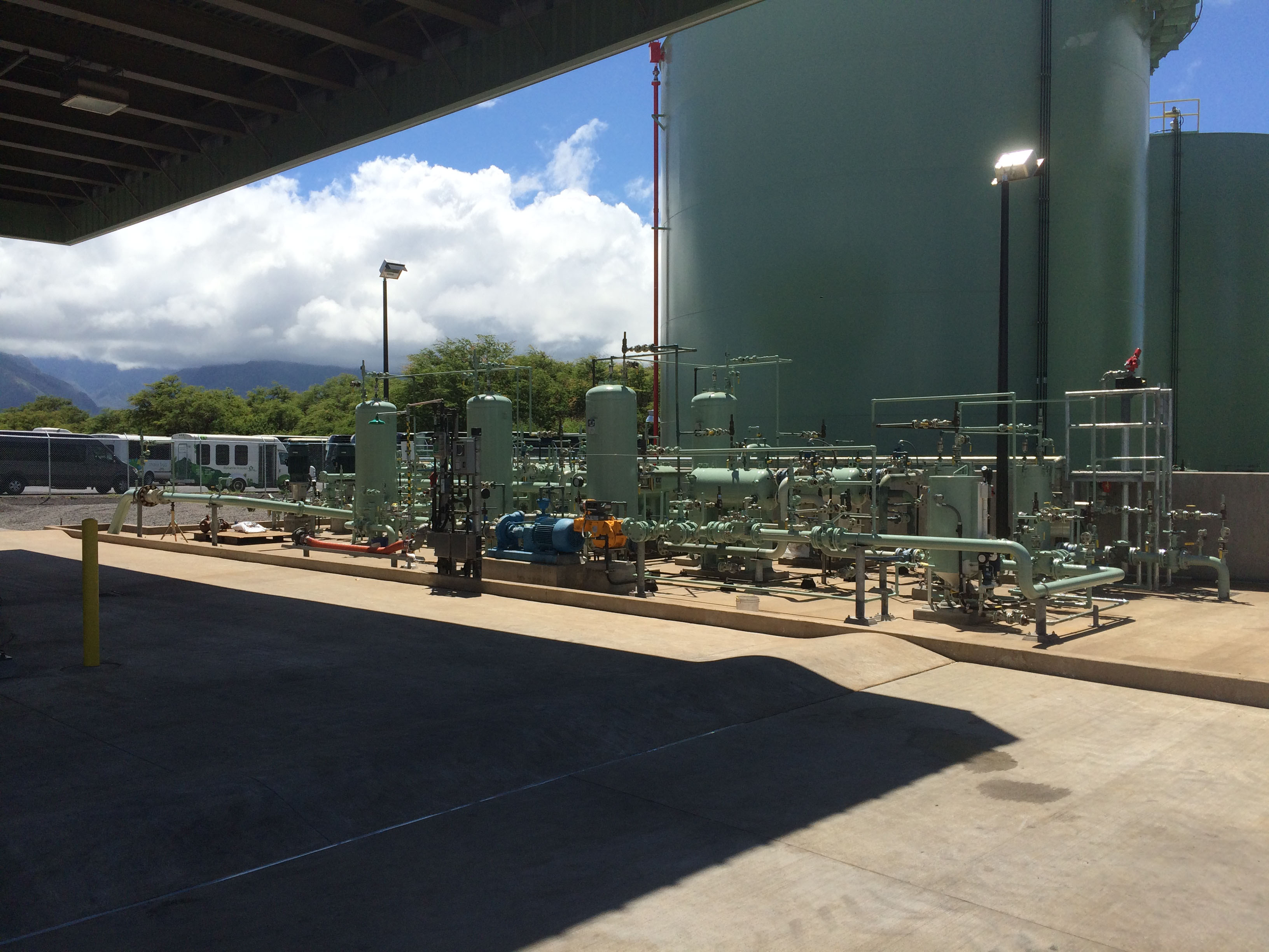 Hffc Jet A Storage Facility Maui International Airport Ogg Velcon Filters Fuel Aviation Technicians