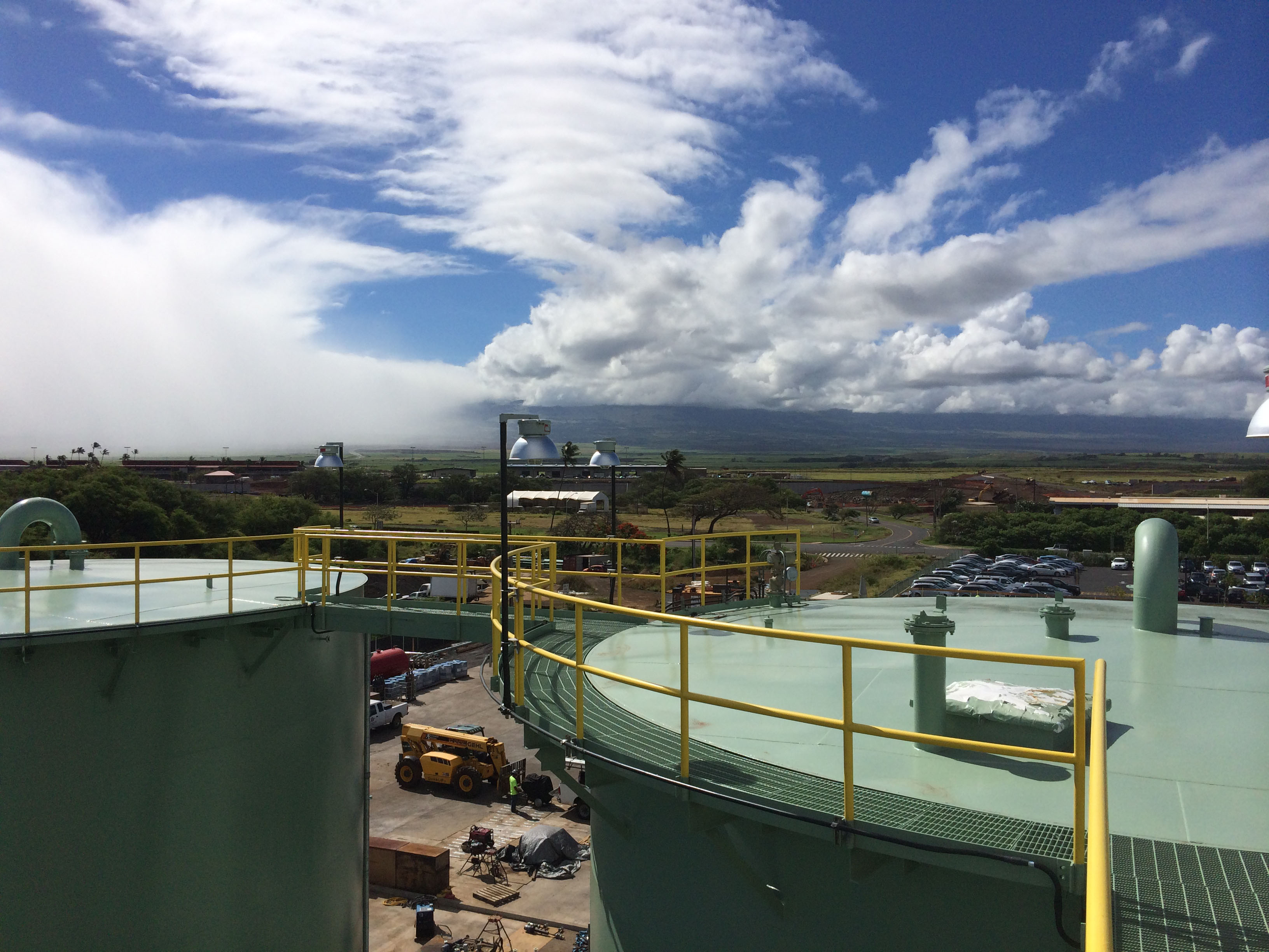 Hffc Jet A Storage Facility Maui International Airport Ogg Velcon Filters Fuel Aviation Bulk Tanks